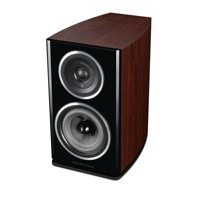 Wharfedale Diamond 11 Series 5.25-inch 2-Way Diamond-11.1-R Rosewood Bookshelf Speaker - Pair