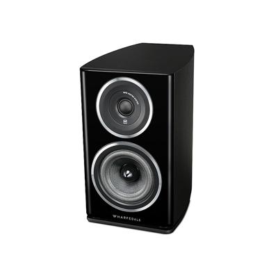 Wharfedale Diamond 11 Series 5.25-inch 2-Way Diamond-11.1 Black Ash Bookshelf Speaker - Pair