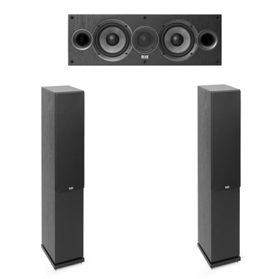 Elac 3.0 System with 2 F5.2 Floorstanding Speakers, 1 C5.2 Center Speaker
