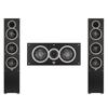 Elac 3.0 System with 2 Debut F5 Floorstanding Speakers, 1 Debut C5 Center Speaker