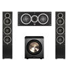 Elac 3.1 System with 2 Debut F5 Floorstanding Speakers, 1 Debut C5 Center Speaker, 1 BIC/Acoustech Platinum Series PL-200 Subwoofer