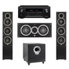 Elac 3.1 System with 2 Debut F5 Floorstanding Speakers, 1 Debut C5 Center Speaker, 1 Debut S10 Subwoofer, 1 Denon AVR-X2300W A/V Receiver