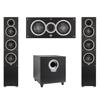 Elac 3.1 System with 2 Debut F5 Floorstanding Speakers, 1 Debut C5 Center Speaker, 1 Debut S10 Subwoofer