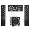 Elac 3.1 System with 2 Debut F5 Floorstanding Speakers, 1 Debut C5 Center Speaker, 1 Debut S12EQ Subwoofer