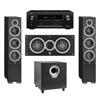 Elac 3.1 System with 2 Debut F6 Floorstanding Speakers, 1 Debut C5 Center Speaker, 1 Debut S10 Subwoofer, 1 Denon AVR-X2300W A/V Receiver