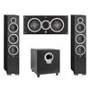 Elac 3.1 System with 2 Debut F6 Floorstanding Speakers, 1 Debut C5 Center Speaker, 1 Debut S10 Subwoofer