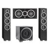 Elac 3.1 System with 2 Debut F6 Floorstanding Speakers, 1 Debut C5 Center Speaker, 1 Debut S10EQ Subwoofer