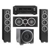 Elac 3.1 System with 2 Debut F6 Floorstanding Speakers, 1 Debut C5 Center Speaker, 1 Debut S12EQ Subwoofer, 1 Denon AVR-X1300W A/V Receiver