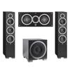 Elac 3.1 System with 2 Debut F6 Floorstanding Speakers, 1 Debut C5 Center Speaker, 1 Debut S12EQ Subwoofer
