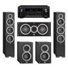 Elac 5.0 System with 2 Debut F6 Floorstanding Speakers, 1 Debut C5 Center Speaker, 2 Debut B4 Bookshelf Speakers, 1 Denon AVR-X2300W A/V Receiver