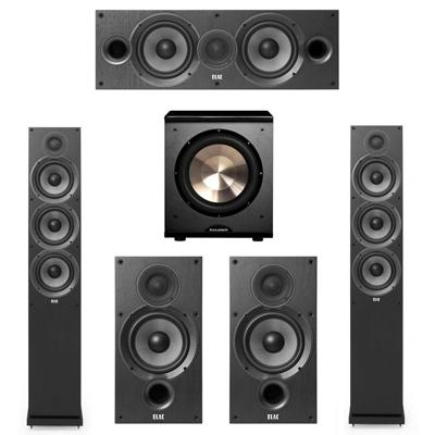 Elac 5.1 System with 2 F6.2 Floorstanding Speakers, 1 C6.2 Center Speaker, 2 B6.2 Bookshelf Speakers 1 BIC/Acoustech Platinum Series PL-200 Subwoofer
