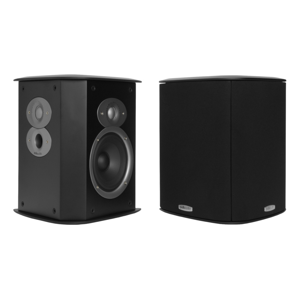 Polk Audio FXiA4 Black Bipole Surround Loudspeaker - Pair