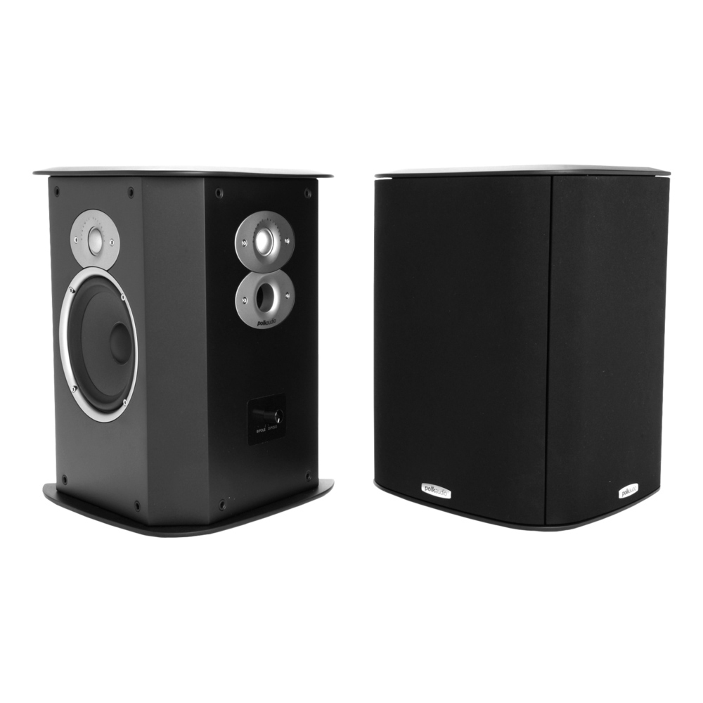 Polk Audio FXiA6 Black Bipole Surround Loudspeaker - Pair