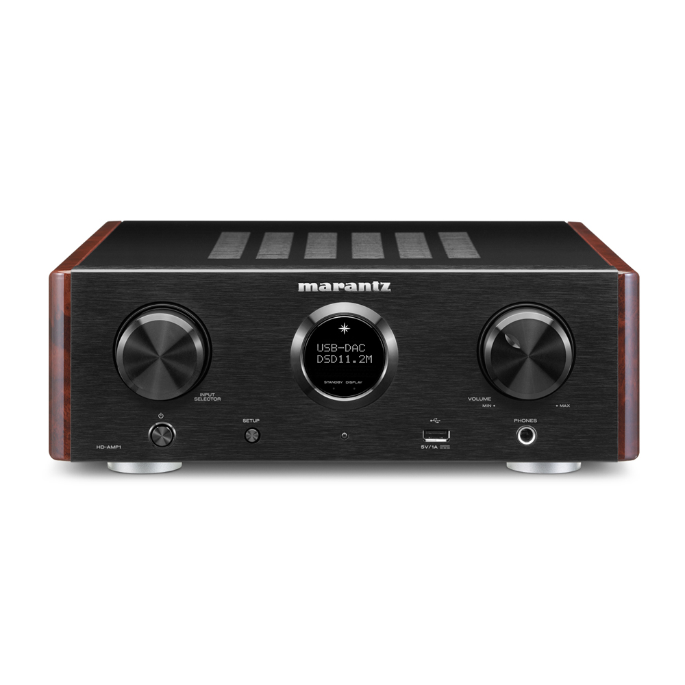 Marantz HD-AMP1 Black Integrated Amplifier with USB-DAC