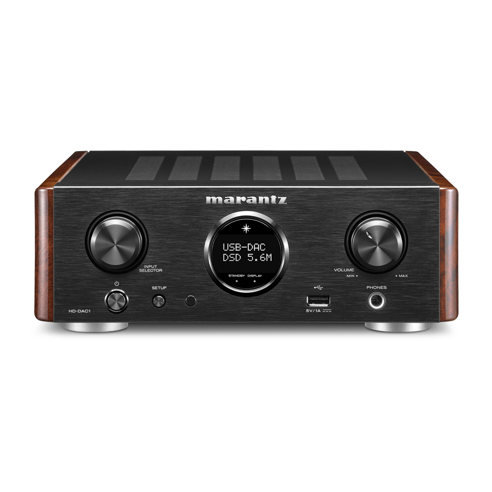 Marantz HD-DAC1 Black Headphone Amplifier with Dac-Mode