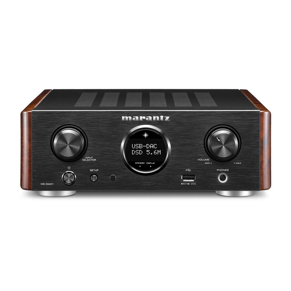 Marantz HD-DAC1 Black Headphone Amplifier with Dac-Mode