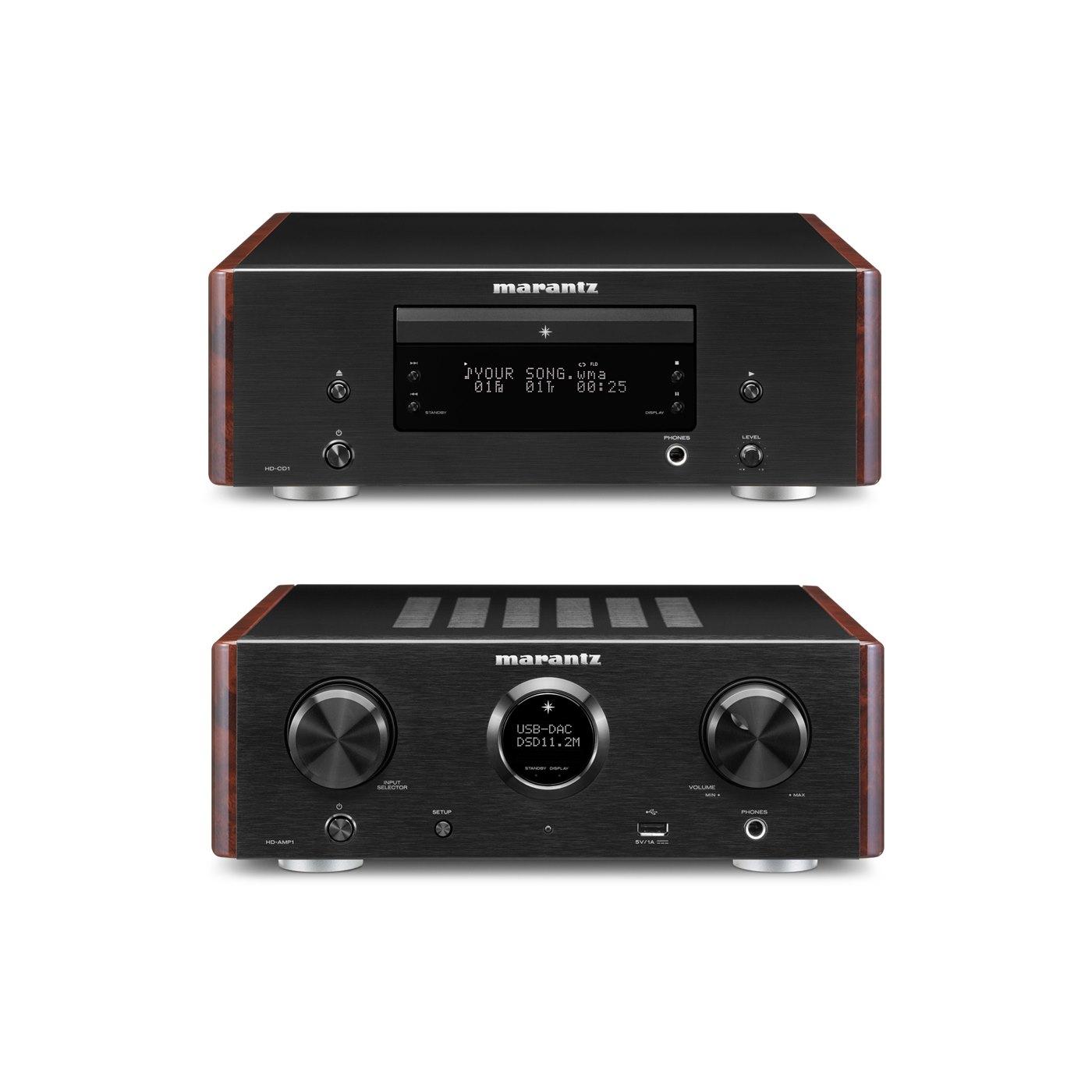 Marantz Digital Integrated Amplifier High Definition CD Player - Bundle