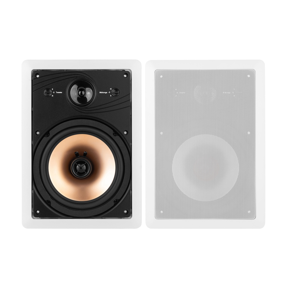 BIC Acoustech HT-8W In-Wall Speakers - Pair
