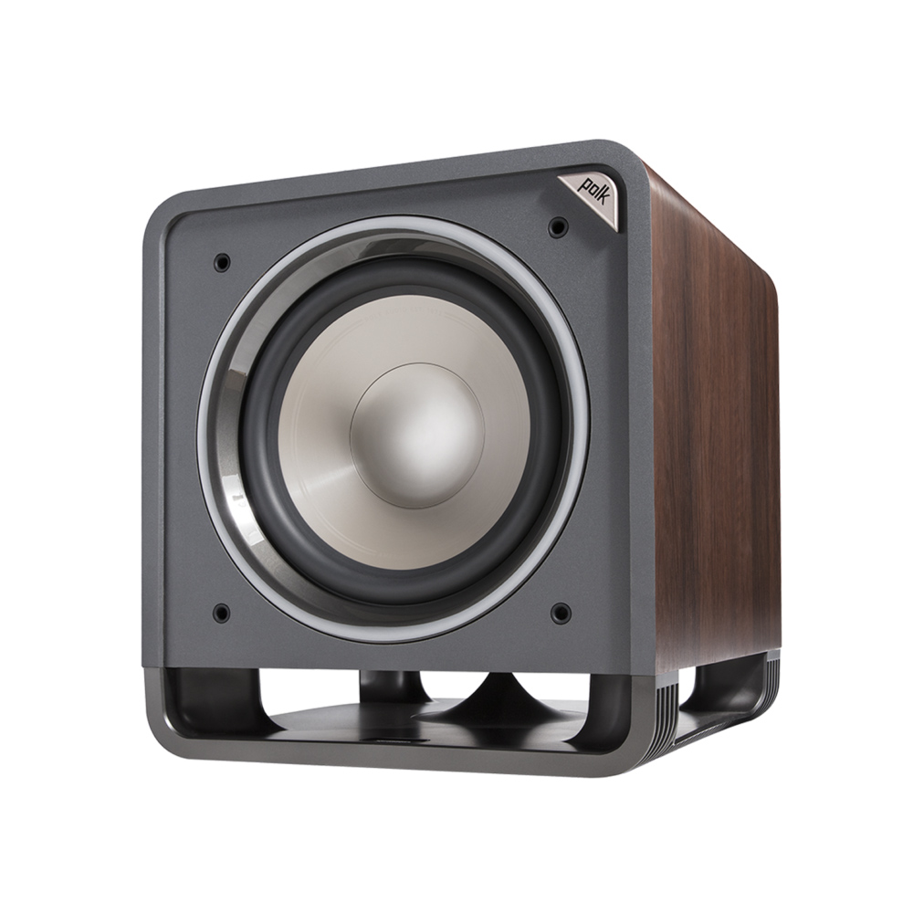 Polk Audio HTS10-BR Classic Brown Walnut 10-Inch Subwoofer System