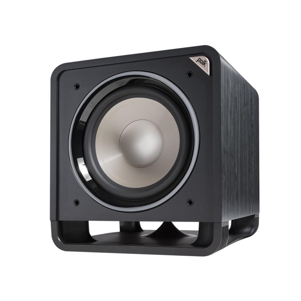 Polk Audio HTS12-BLK Washed Black Walnut 12-Inch Subwoofer System