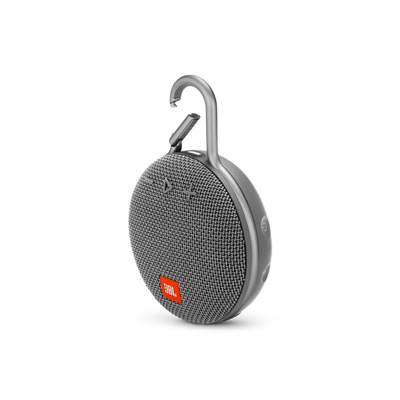 JBL Clip 3 Gray Portable Bluetooth Speaker