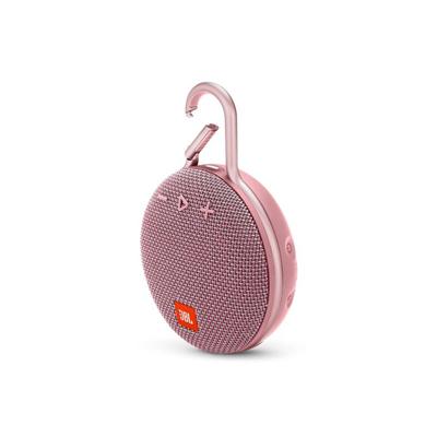 JBL Clip 3 Pink Portable Bluetooth Speaker
