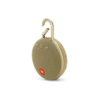 JBL Clip 3 Sand Portable Bluetooth Speaker