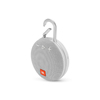 JBL Clip 3 White Portable Bluetooth Speaker