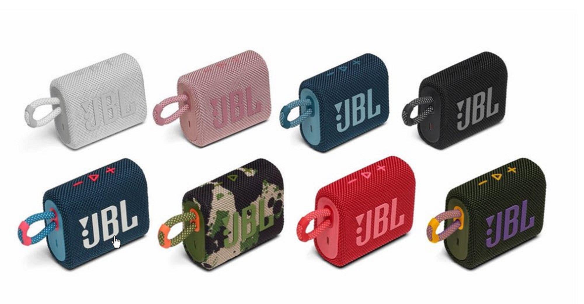 JBL GO 3 Bluetooth Speaker