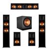 Klipsch 5.1 Ebony Piano Black System-2 RP-6000F,1 RP-504C,2 RP-500M,1 SPL-150