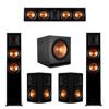 Klipsch 5.1 Ebony Piano Black System-2 RP-6000F,1 RP-504C,2 RP-502S,1 SPL-150