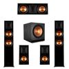 Klipsch 5.1 Ebony Piano Black System-2 RP-6000F,1 RP-600C,2 RP-500M,1 SPL-150