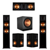 Klipsch 5.1 Ebony Piano Black System-2 RP-6000F,1 RP-600C,2 RP-502S,1 SPL-150