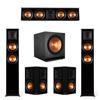 Klipsch 5.2 Ebony Piano Black System-2 RP-5000F,1 RP-404C,2 RP-502S,2 SPL-150