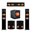 Klipsch 5.2 Ebony Piano Black System-2 RP-5000F,1 RP-504C,2 RP-502S,2 SPL-150