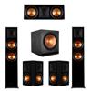 Klipsch 5.2 Ebony Piano Black System-2 RP-6000F,1 RP-500C,2 RP-502S,2 SPL-150