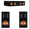 Klipsch 3.0 Piano Black System with 2 RP600M, 1 RP504C