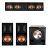 Klipsch 3.1 Piano Black System with 2 RP-600M, 1 RP-404C, 1 PL-200II