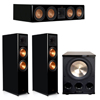 Klipsch 3.1 Piano Black System with 2 RP-8060FA, 1 RP-504C, 1 PL-300