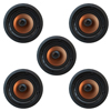 Klipsch 5.0 In-Wall System with 5 CDT-5800-C II In-Ceiling Speakers