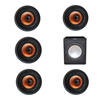 Klipsch 5.1 In-Wall System with 5 CDT-3800-C II In-Ceiling Speakers, 1 Premier Acoustic PA-150 Subwoofer