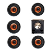 Klipsch 5.1 In-Wall System with 5 CDT-3800-C II In-Ceiling Speakers, 1 BIC/Acoustech Platinum Series PL-200 II Subwoofer