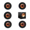 Klipsch 5.1 In-Wall System with 5 CDT-3800-C II In-Ceiling Speakers, 1 Klipsch R-115SW Subwoofer