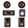 Klipsch 5.1 In-Wall System with 2 R-3800-W II In-Wall Speakers, 1 Klipsch R-5502-W II In-Wall Speaker, 2 Klipsch CDT-3800-C II In-Ceiling Speakers, 1 Premier Acoustic PA-150 Subwoofer