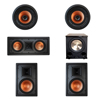 Klipsch 5.1 In-Wall System with 2 R-3800-W II In-Wall Speakers, 1 Klipsch R-5502-W II In-Wall Speaker, 2 Klipsch CDT-3800-C II In-Ceiling Speakers, 1 BIC/Acoustech Platinum Series PL-200 II Subwoofer