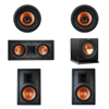 Klipsch 5.1 In-Wall System with 2 R-3800-W II In-Wall Speakers, 1 Klipsch R-5502-W II In-Wall Speaker, 2 Klipsch CDT-3800-C II In-Ceiling Speakers, 1 Klipsch R-110SW Subwoofer