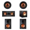 Klipsch 5.1 In-Wall System with 2 R-3800-W II In-Wall Speakers, 1 Klipsch R-5502-W II In-Wall Speaker, 2 Klipsch CDT-3800-C II In-Ceiling Speakers, 1 Klipsch R-115SW Subwoofer