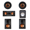 Klipsch 5.1 In-Wall System with 2 R-5800-W II In-Wall Speakers, 1 Klipsch R-5502-W II In-Wall Speaker, 2 Klipsch CDT-5800-C II , 1 Premier Acoustic PA-150 Subwoofer