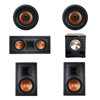 Klipsch 5.1 In-Wall System with 2 R-5800-W II In-Wall Speakers, 1 Klipsch R-5502-W II In-Wall Speaker, 2 Klipsch CDT-5800-C II , 1 BIC/Acoustech Platinum Series PL-200 II Subwoofer