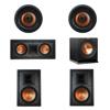 Klipsch 5.1 In-Wall System with 2 R-5800-W II In-Wall Speakers, 1 Klipsch R-5502-W II In-Wall Speaker, 2 Klipsch CDT-5800-C II , 1 Klipsch R-110SW Subwoofer